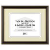 Trimmed Document Wood Frame with Certificate, 11 X 14