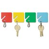 Steelmaster Slotted Rack Key Tags, 20/Pack