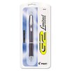 G2 Limited Retractable Gel Roller Ball Pen, Micro Point, 0.7 mm, Black, Refillable