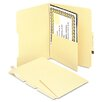 Manila Self-Adhesive Folder Dividers with Twin-Prong Fastener, 25/Pack