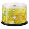 CD-R Discs 700Mb/80Min 52X Spindle, 50/Pack