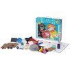 Set 9: Magnetism, Static Electricity, & Tornadoes, Clouds, and Water Cycle Science Kit