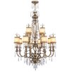 La Bella 12 Light Chandelier