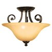 Florence 3 Light Semi Flush Mount