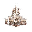 Ophelia 9 Light Chandelier