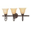 Moulan 3 Light Vanity Light