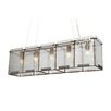 Recycled Rain Pendant - Linear 5 Light