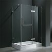 Pivot Door Frameless Shower Enclosure