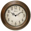 Atheneum Wall Clock in Antique Gold