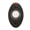 2&quot; x 1.125&quot; Oval Doorbell Button