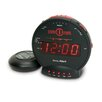 Sonic Bomb Alarm Clock with Flashing Lights