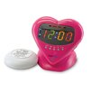Sonic Boom Sweetheart Vibrating Alarm Clock