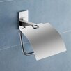 Maine Toilet Paper Holder with Cover in Chrome