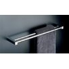 "Metric 19.7"" Double Towel Bar in Polished Chrome"