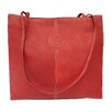 Blushing Red Collection Medium Market Bag