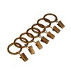 Heavy Duty Clip Rings in Antique Gold (Set of 7)