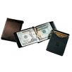 Florentine Napa Single Money Clip with Outside Pocket