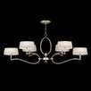 Allegretto Gold 6 Light Chandelier