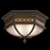 Chateau 2 Light Outdoor Flush Mount
