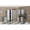 Storage 7-Piece 12' Storage System w/Workstation in Starfire Pearl
