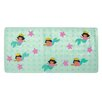 Nickelodeon Dora the Explorer Dimensional Vinyl Bath Mat Mermaid