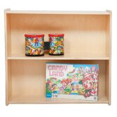 27.25&quot; H Book and Storage Shelf