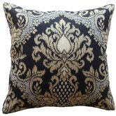 Ikat Poly Decorative Pillow in Ebony