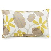 Bethe Flower Linen Pillow in Light Brown