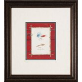 Lures I / II / III / IV Framed Art (Set of 4)