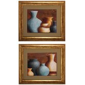 Ancient Clay I / II Wall Art (Set of 2)