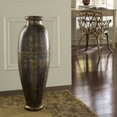 Round Urn Floor Vase
