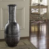 Flare Round Floor Vase