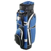 Storm Cart Bag in Black / Royal / White