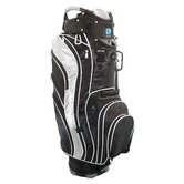 Genesis Cart Bag in Black and Silver