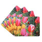 Tulip Corkback Placemat (Set of 4)