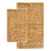 Barbados Shag Accent Linen Rug Set