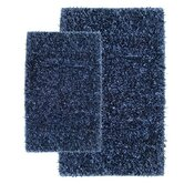 Barbados Shag Accent Rug Navy Set