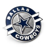Dallas Cowboys Circle Star Lapel Pin