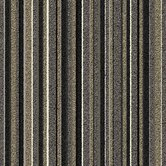 Birch Parkway Square Carpet Tile in Gray Stripe