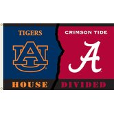 NCAA Rivalry House Divided Traditional Flag