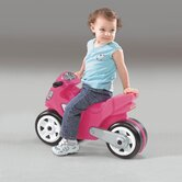 Motorcyle Ride-On Toy in Pink