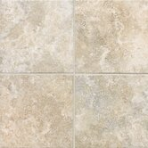 "San Michele 18"" x 18"" Cross - Cut Field Tile in Crema"