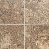 "San Michele 12"" x 12"" Cross - Cut Field Tile in Moka"
