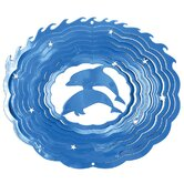 Blue Classic Dolphins Wind Spinner