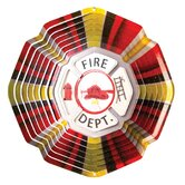 Designer Fire Department Wind Spinner
