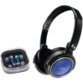 Jammerz Headphones with Earbuds &amp; Carrying Case