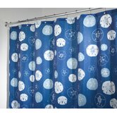 Sand Dollar Self Adhesive Shower Curtain