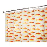 EVA Frost Goldfish Shower Curtain