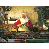 Santa and His Trains - 500 Piece Puzzle