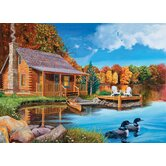Autumn Cabin - 1000 piece puzzle